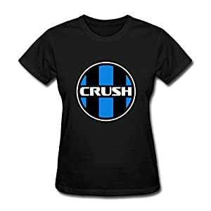 Tamara Women's Crush Black Cotton T-Shirt