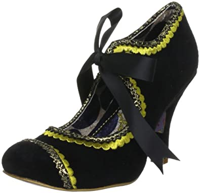 Irregular Choice Women's Marmalade Black/Yellow Mary Jane 3614-36A 3.5 UK