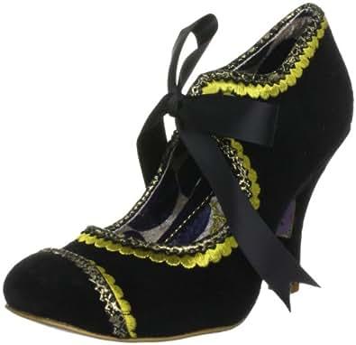 Irregular Choice Women's Marmalade Black/Yellow Mary Jane 3614-36A 3.5 UK