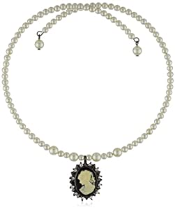 1928 Jewelry Kimberly's Cameos Coil Choker