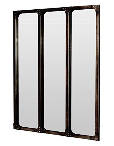 Miroir industriel loft for Miroir design industriel