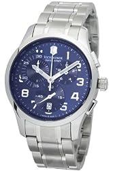 Victorinox Swiss Army Men's 241310 Alliance Chronograph Blue Dial Watch