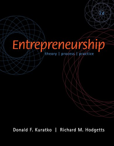 Entrepreneurship (with InfoTrac)