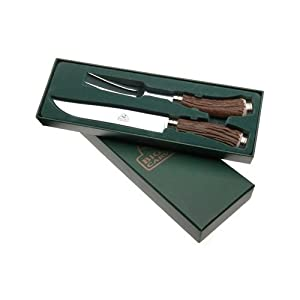 Big Sky Carvers 70631 Faux Antler Carving Knife Set by Meat Carving Knives