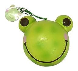 Jumbo Animal Bun Bread Series Squishy - SLOW RISE & SCENTED! (Green Tea Frog Bun)