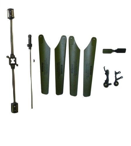Blades, Balance bar, landing gear,inner shaft,tail blades for Protocol's STEALTH HAWK RC Helicopter with Gyro