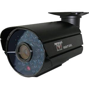 Night Owl Security CAM-OV600-365A Hi-Resolution 600 TVL Security Camera with Audio, 36 Cobalt Blue LED
