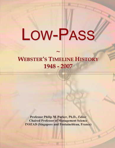 Low-Pass: Webster's Timeline History, 1948 - 2007