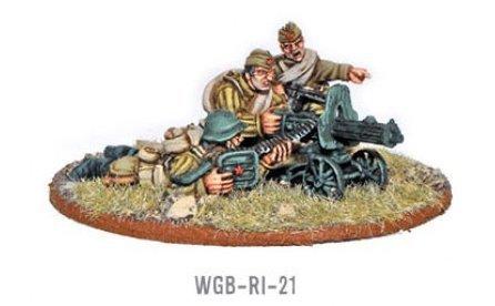 Soviet Maxim Hmg Crew Miniatures - 1