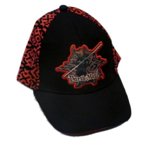 Star Wars Boys Black & Red Darth Maul Baseball Cap Ball Hat нож мачете балу