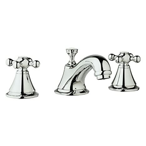 Grohe K20800-18731-000 Seabury Lavatory Cross Faucet Kit, Chrome