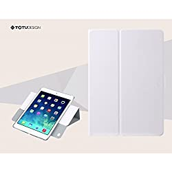 G-STAR TOTU 360° Rotation Leather Case for Ipad Air - White