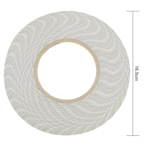 Lopurs 6Mm 3M Double Sided Adhesive Sticker Tape For Ipad Air / Ipad Mini / Ipad 4 / New Ipad / Ipad 2 Touch Screen Repair, Length: 50M(White)