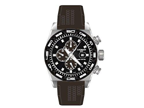 Locman montre homme Stealth chronographe 0217V1-0KBKNKS2K