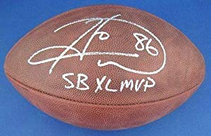 Hines Ward Pittsburgh Steelers Signed Football SB XL MVP WARD HOLO HW01808 -... by Sports Memorabilia