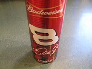 Dale Earnhardt Jr #8 Full Aluminum Budweiser 16 oz bottle