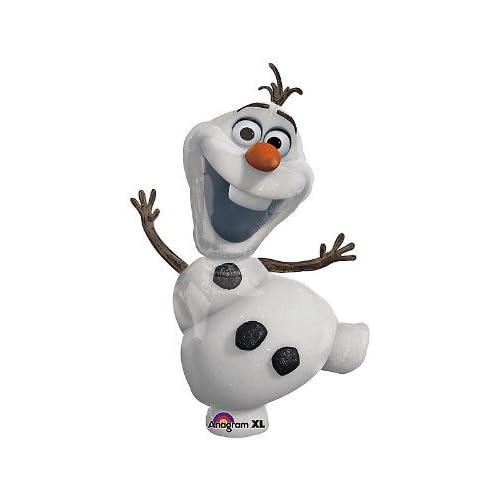 Olaf the Snowman Disney Frozen 41 Balloon Birthday Party Decoration (1)