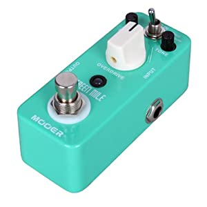MOOER Green Mile Overdrive Pedal Effect Pedal 2 Overdrive True Bypass