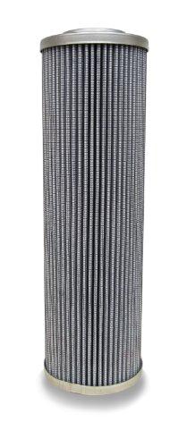 "Schroeder 9VZ25 Filter Cartridge for RLT, Z-Media, Micro-Glass, Removes Rust, Metallic Debris, Fibers, Dirt; 9.5"" Height, 3.7"" OD, 1.5"" ID, 25 Micron"