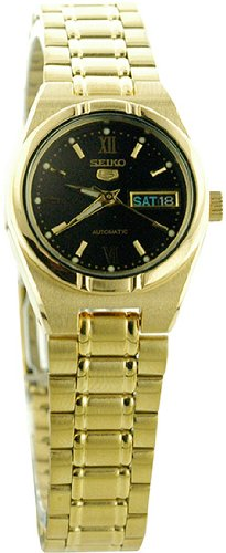 Seiko Women's SYM614 Stainless Steel Analog with Black Dial Watch Reviews