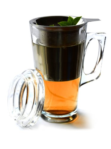 Asobu Tea Mug with Stainless Steel Infuser by Ad-n-art