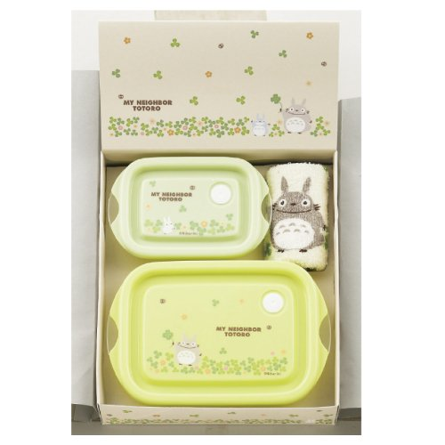 Microwave containers & towel, set of 3