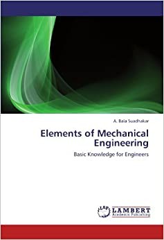 basics of mechanical engineering book pdf