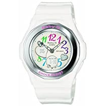 Casio Womens BGA101-7B Baby-G Gem Dial Analog Sport Watch