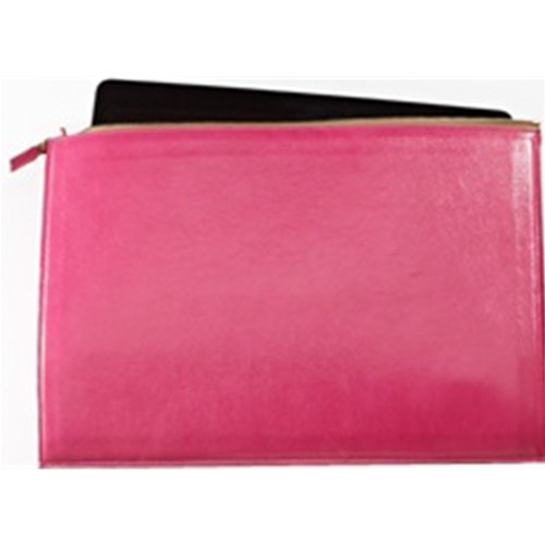 Graphic Image New Brights Leather Pink Laptop Case
