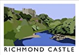 Richmond Castle Art Print (A3)