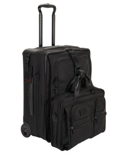 Tumi Tumi Alpha 2 Continental Carry-On, Black, One Size