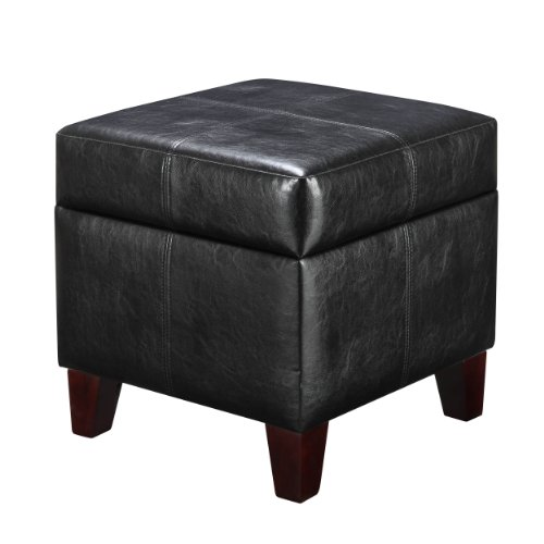 sofa storage ottoman living room bedroom furniture leather ottomans