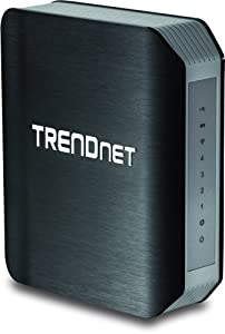 TRENDnet Wireless AC1750 Dual Band Gigabit Router with USB Share Port, TEW-812DRU Version 2.1 from TRENDnet