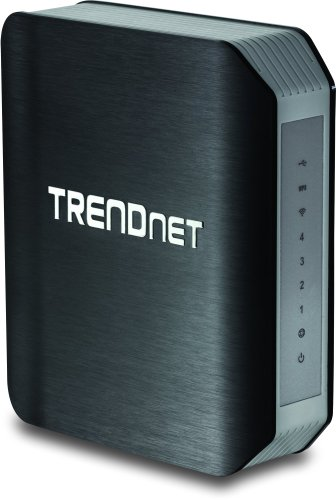 Trendnet Wireless Ac1750 Dual Band Gigabit Router With Usb Share Port, Tew-812Dru Version 2.1 front-301115