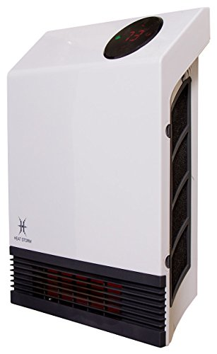 Heat Storm Deluxe Infrared Wall Heater (Wall Mount Electric Room Heater compare prices)
