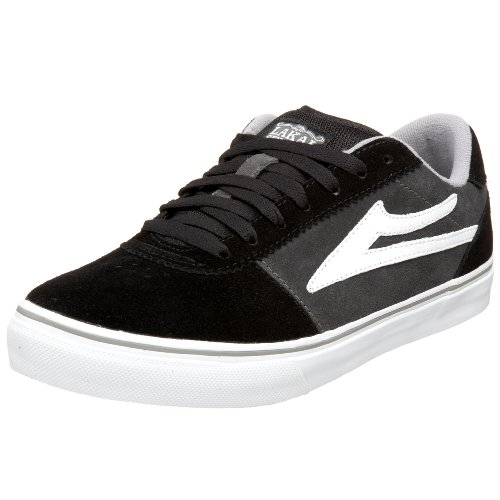 Lakai Men's Manchester Select SP2 Sneaker,Black/Grey,7.5 M US
