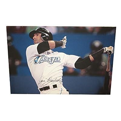 Jose Bautista Autographed Toronto Blue Jays 30 x 20 Canvas Print - Certified Authentic