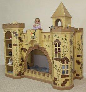 Norwich castle bunk bed plans pdf woodworking for Castle bed plans pdf