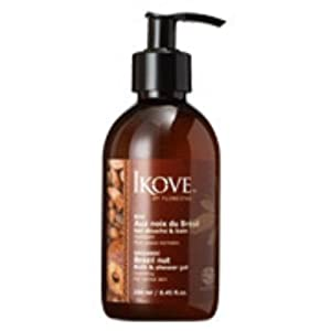 Ikove Brazil Nut Bath & Shower Gel 8.45 oz 8.45 Ounces