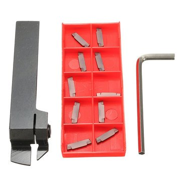 Generic-MGEHR1616-Parting-Off-Turning-Tool-Holder-with-10pcs-MGMN200-Carbide-Inserts-Lathe-Tools