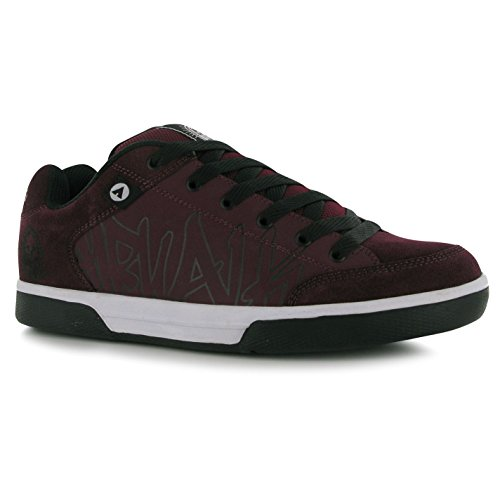 Airwalk Outlaw Skate Scarpe da uomo bordeaux Casual Scarpe Sneakers, Bordeaux