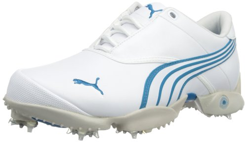 Puma Womens Jigg W Golf Shoes 186083-04 White/Grey 5.5 UK, 38.5 EU