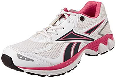 Reebok Women's Premier Aztrec 3 Lp White and Grey Mesh Running Shoes - 4 UK