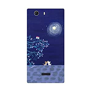 Skintice Designer Back Cover with direct 3D sublimation printing for Nokia Lumia 540
