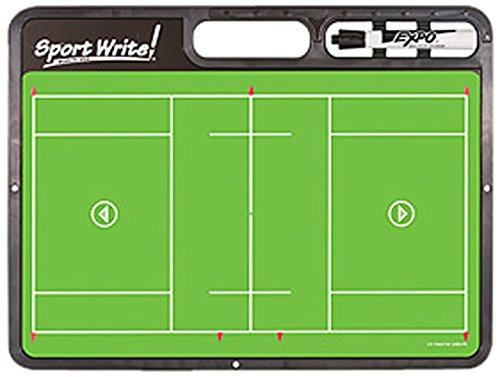 BSN Sports Sport Write Pro Lacrosse Board (Lacrosse Dry Erase Board compare prices)