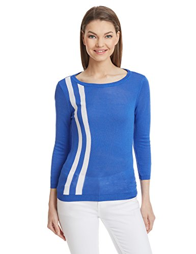 United-Colors-Of-Benetton-Womens-Striped-T-Shirt