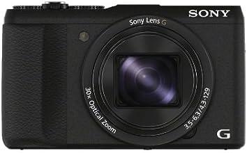 """Sony DSCHX60B.CE3 Appareil photo numérique bridge 3"""" (7,62 cm) 20,4 Mpix Zoom optique 30x Wi-Fi/HDMI/USB Noir"""