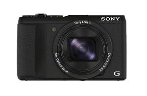 Sony DSC-HX60 Digitalkamera (Exmor R CMOS Sensor, 30-fach opt. Zoom, 7,5 cm (3 Zoll) LCD-Display, NFC, WiFi) schwarz