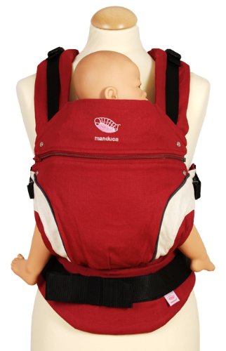Manduca Baby Carrier red (new style)
