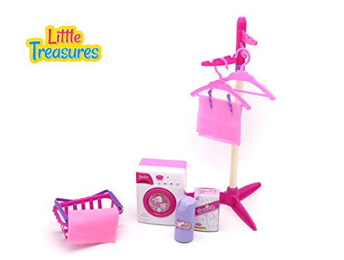 Little Treasures Baby House Miniature Laundry Playset (Kids Laundry Center compare prices)